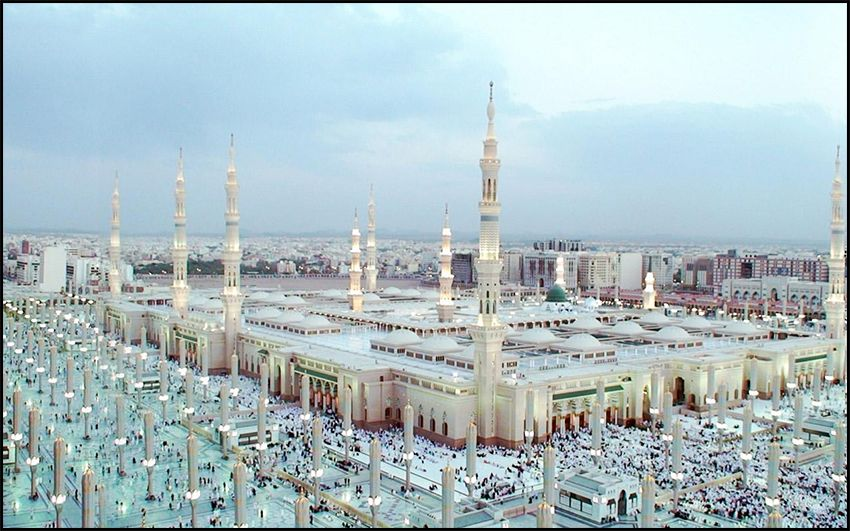 Interesting Facts about Masjid-e-Nabvi